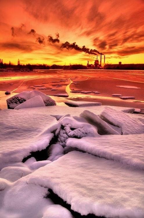 Oulu, North Ostrobothnia, Gulf of Bothnia. Finland