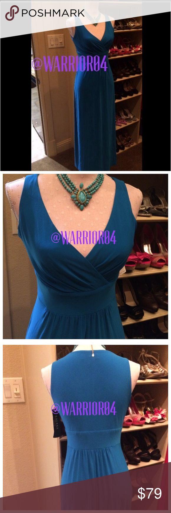 Ralph Lauren Turquoise Maxi Dress NWT Ralph Lauren Turquoise Maxi Dress NWT Ralph Lauren Dresses Maxi