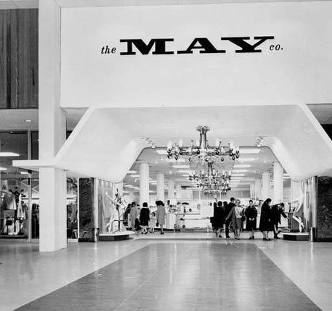 The May Company at Parmatown Mall in 1968. (Cleveland Memory Project)