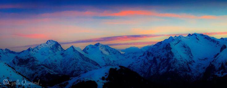 Sunset - Alpe d'Huez