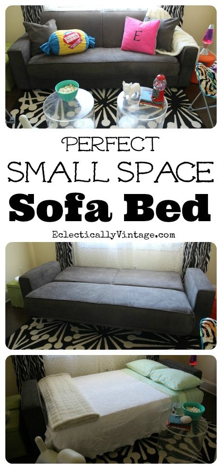Discover the Perfect Sofa Beds for Small Spaces (can fit up a tight staircase, through a narrow door) eclecticallyvintage.com
