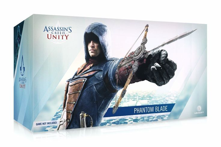 The Phantom Blade. The newest assassin creed weapon. ...just a little obsessed. http://www.amazon.com/Ubisoft-Assassins-Creed-Unity-Phantom/dp/B00KR4MLCO/ref=sr_1_1?ie=UTF8
