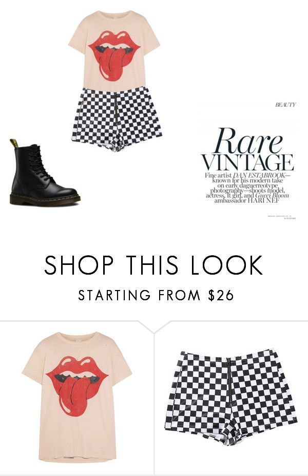 """#9"" by chloe-pickering on Polyvore featuring MadeWorn and Dr. Martens"