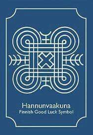 Finnish good luck symbol.