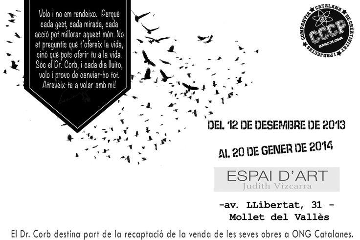 In 'Espai d'Art Judith Vizcarra' of Mollet del Vallès.