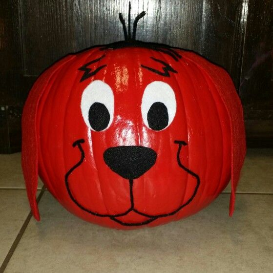 Clifford Storybook Pumpkin Halloween Fun Pinterest