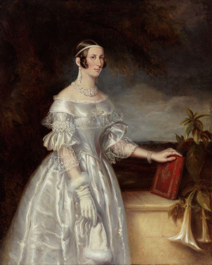 Portrait of Mrs Alexander Spark (1840).Maurice Felton (English/Australian, 1803-1842).