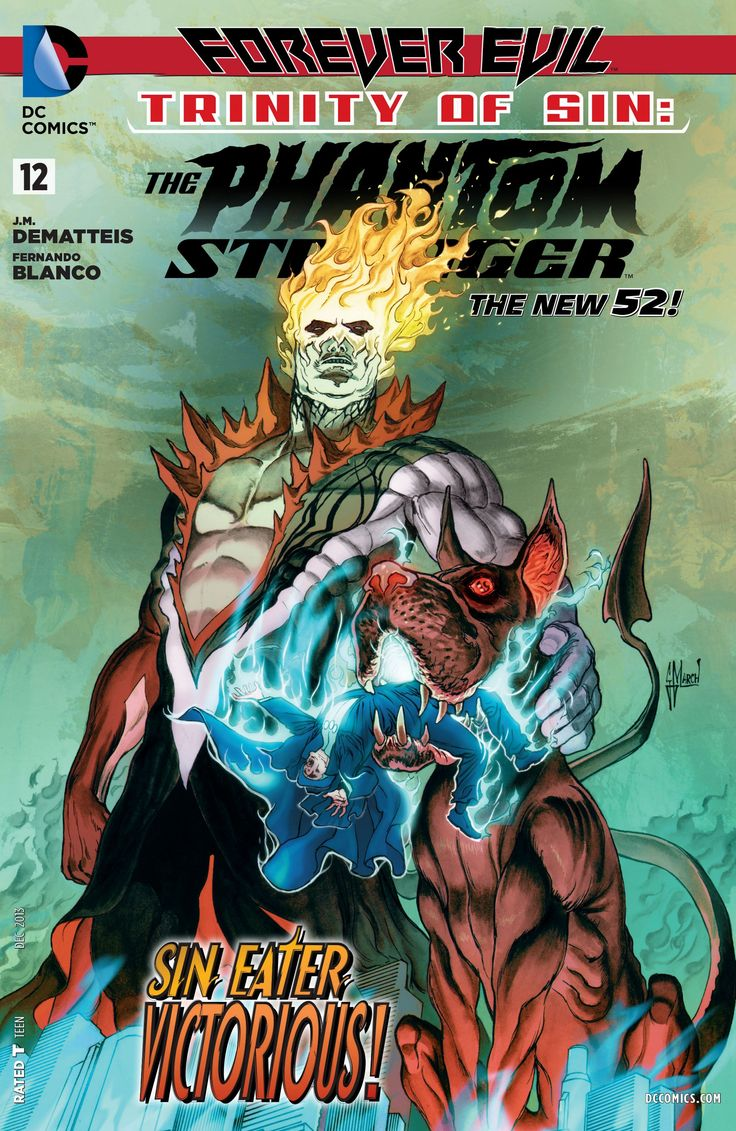 Trinity Of Sin: The Phantom Stranger #12