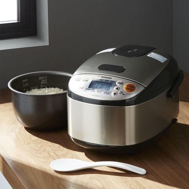 Zojirushi ® 3-Cup Rice Cooker - Crate and Barrel