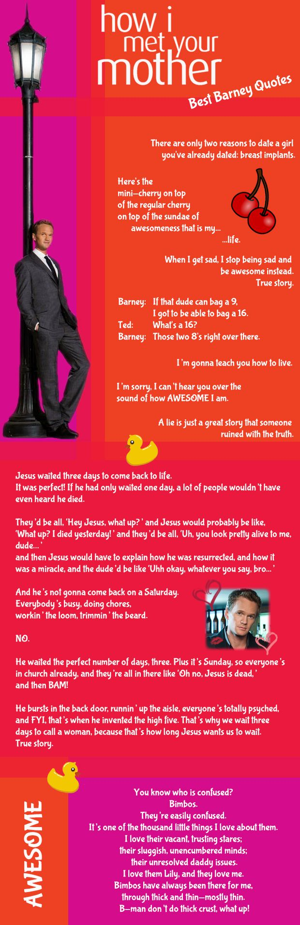 How I Met Your Mother - Best Barney quotes