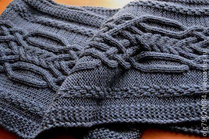 """Шарфы и шарфики ручной работы. Ярмарка Мастеров - ручная работа шарф мужской вязаный """" Для самого любимого"""". Handmade."""