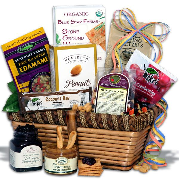 What about giving a HEALTHY gift basket, filled with nutritious snacks? #giftidea