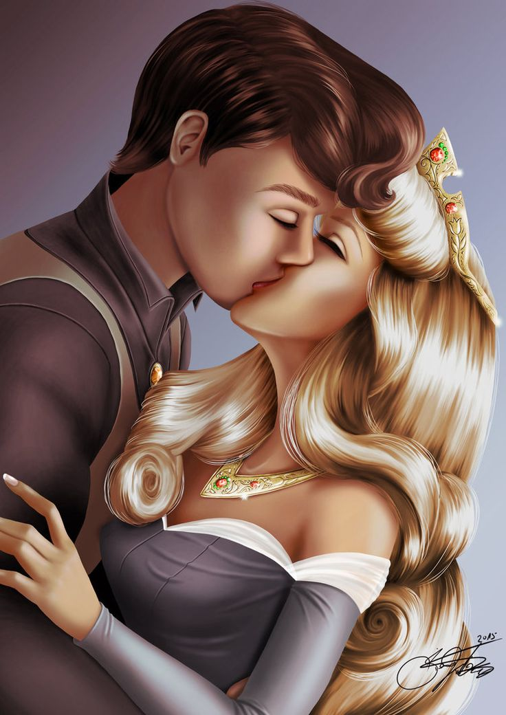 the princess kiss
