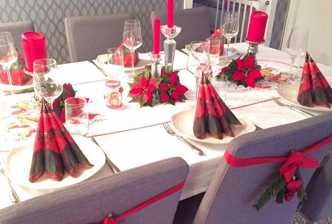 DIY / gjør det selv borddekking til jul
