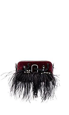 Marc Jacobs Snapshot Velvet Small Camera Bag in Bodeaux | REVOLVE
