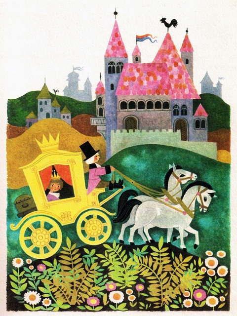 'The Princess and the Pea' by Felicitas Kuhn [Pestalozzi Verlag] by aMJel, via Flickr