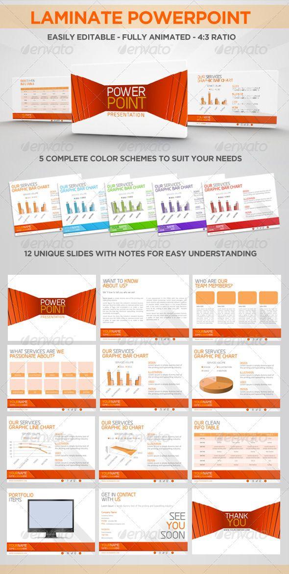 Laminate Powerpoint Corporate Presentation