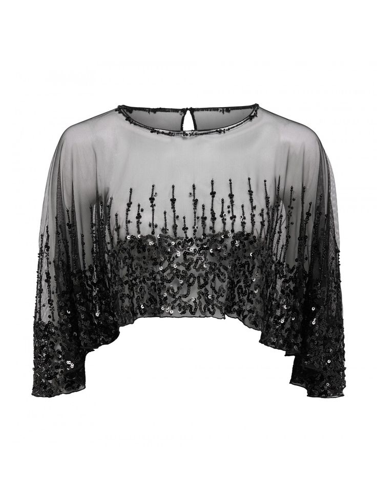 Discover a new wardrobe favourite and channel chic sophistication with our Bridie Embellished Cape, sure to see you transition effortlessly from day to night.