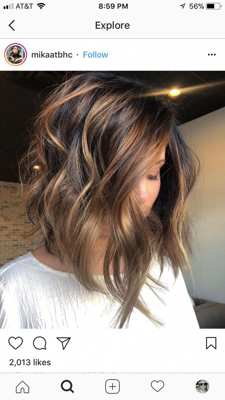 Love everything about this cut/color. #HairHighlightsIdeas