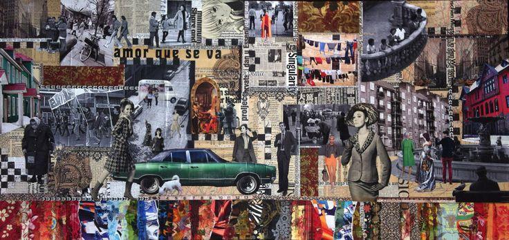 Collage Lorena Córdova - ...calle