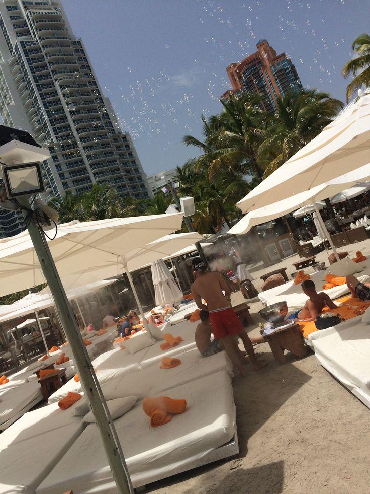 At Nikki Beach Miami