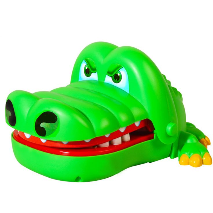 Practical Jokes Crocodile Mouth Dentist Bite Finger Game Joke Fun Funny Crocodile Toy Antistress Gift Kids Child Family Prank