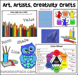 Art, Artists, and Creativity Crafts and Learning Activiteis