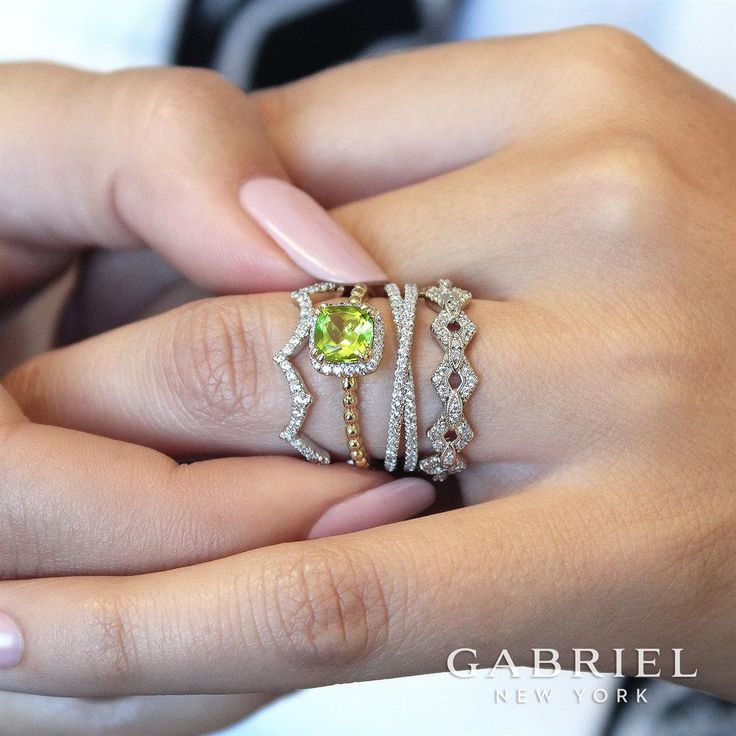 Engagement rings and wedding bands have no limits...choose what your heart desires at our Bridal Event is March 31-April 2, join us for a Gabriel-filled bridal weekend! #diamondsrings #GabrielNY #love #shinebright #BridalEvent#RingEnvy