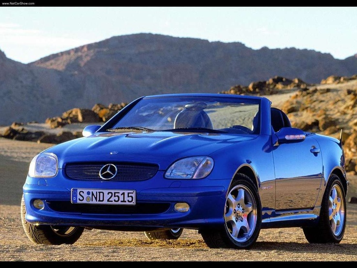 Mercedes SLK 230 Kompressor Roadster This may very well be my Retirement car!