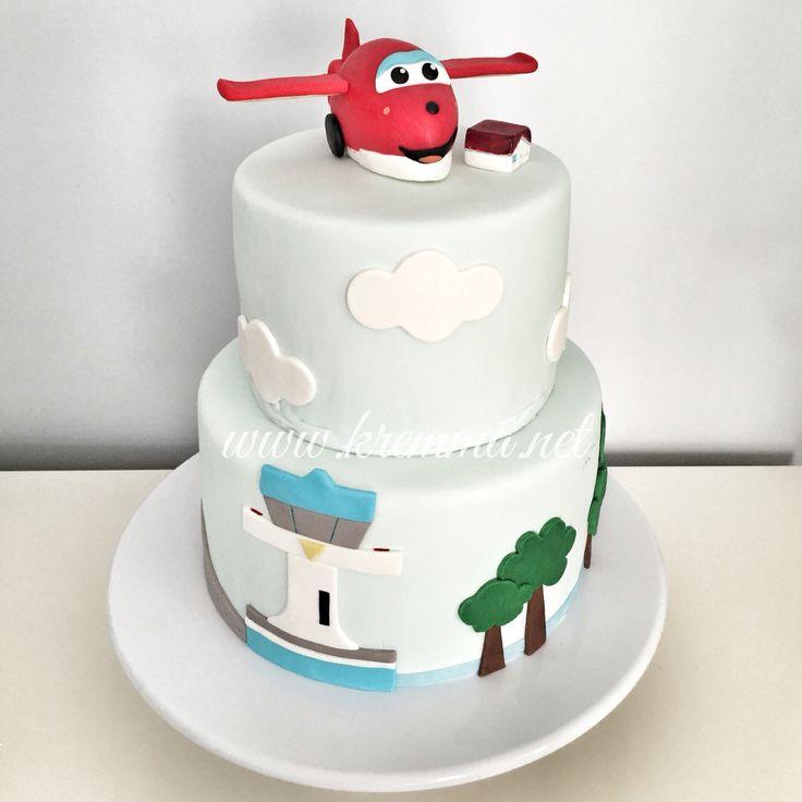 """""""Harika Kanatlar"""" doğum günü pastası"""