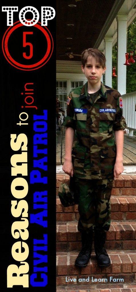 Top 5 Reasons to Join Civil Air Patrol - Live and Learn Farm