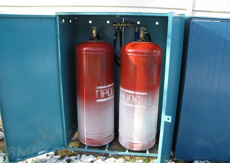 Отопление дома сжиженным газом в баллонах. Разбираемся в особенностях RMNT.RU