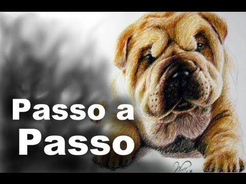 Giz Pastel Oleoso - Cão Passo a Passo                              …
