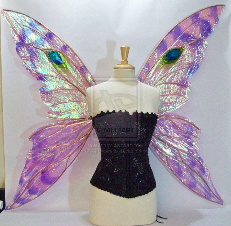 Suzanne Fairy Wings Front by FaeryAzarelle.deviantart.com on @DeviantArt