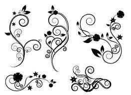 Image result for black swirls png