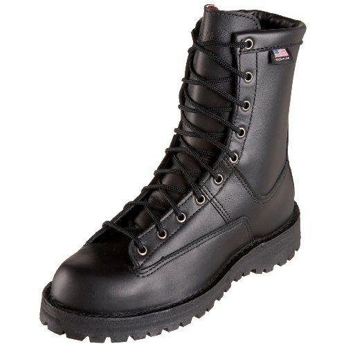 Danner Men's Recon 200 Gram Uniform Boot,Black,9.5 EE US Danner's famous stitch down construction. 8 of support and durability. Stable underfoot platform. Recraftable. Plain toe.  #Danner #Shoes