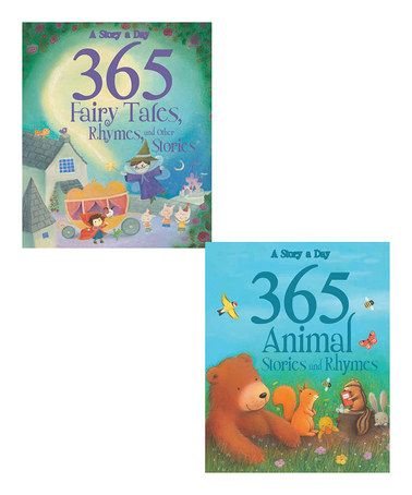 Take a look at this 365 Animal Stories & 365 Fairytales Padded Hardcovers on zulily today!