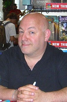 Brian Michael Bendis is an American comic book writer and former artist. He has won critical acclaim (including five Eisner Awards) for his self-published, Image Comics and Marvel Comics work.[1]  Starting out with crime and noir comics, Bendis eventually moved to mainstream superhero work. With Bill Jemas and Mark Millar, Bendis was the primary architect of the Ultimate Marvel Universe, launching Ultimate Spider-Man in 2001. He  teaches writing at Portland State University.