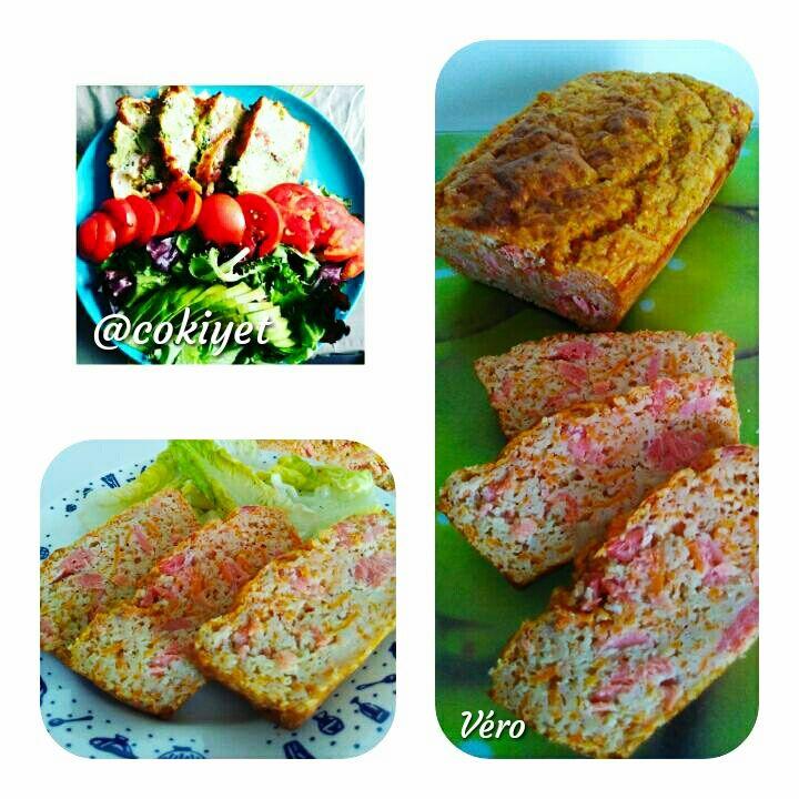 riche et magnifique choisir officiel caractéristiques exceptionnelles Cake à la semoule, truite fumée et carottes 2 sp | Cuisine ...