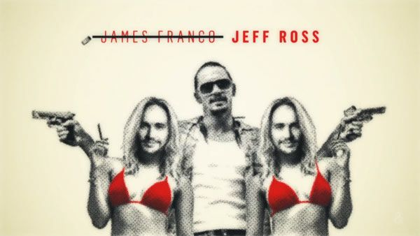 The Comedy Central Roast of James Franco - Main Title Sequence by Thornberg & Forester