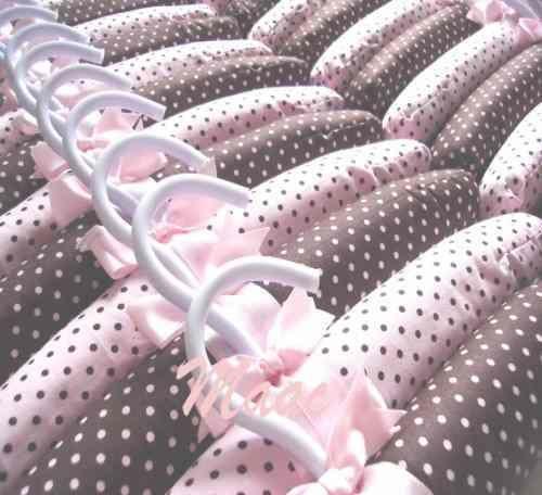 DIY FAÇA VOCÊ MESMO PASSO A PASSO: cabide bebe tecido estampado