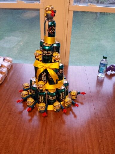 Despicable Me beer cake