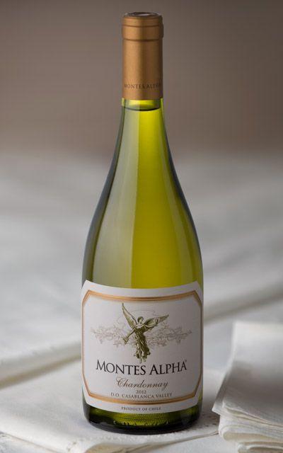 Chardonnay Wine Montes Alpha