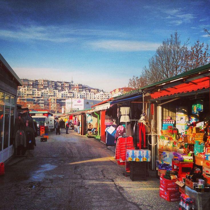 Sarajevo Top 5: Ciglane market || Read about my favorite places in #Sarajevo here: http://www.blocal-travel.com/balkans/sarajevo-top-5-html/