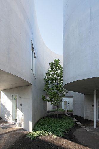 SANAA, Okurayama Apartment by naoyafujii, via Flickr