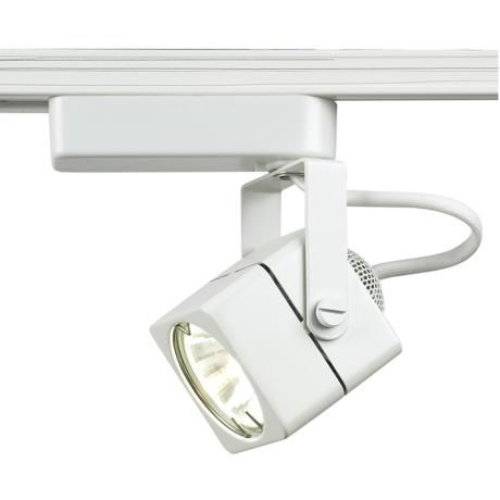 Track Lighting WAC MR16 Halogen Cube White Finish Track Head. Sale for $33.95 per head  sc 1 st  Pinterest : halogen track lights - azcodes.com