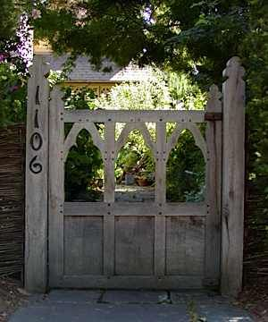 106 best gates and fences images on pinterest door entry Tudor style fence
