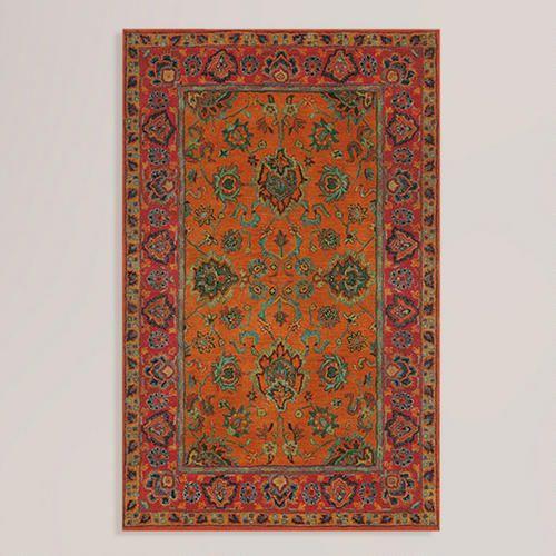 mandarin agra wool rug runners wool and world market. Black Bedroom Furniture Sets. Home Design Ideas