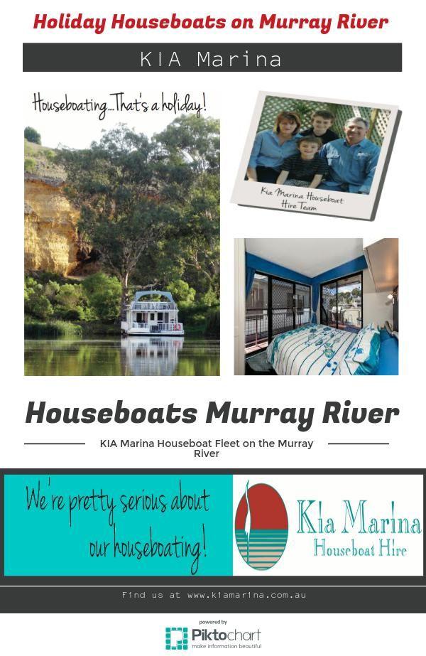 """Houseboats Murray River"" http://www.kiamarina.com.au/"
