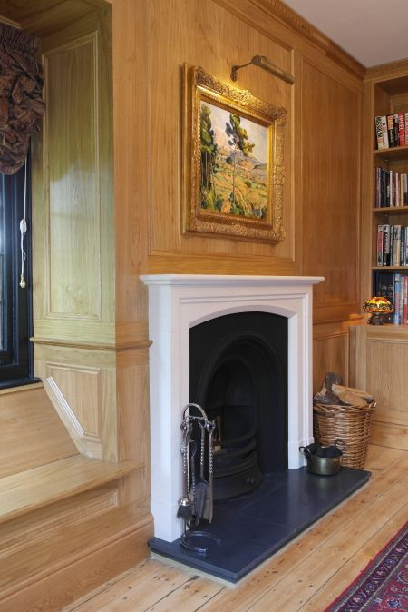 Paneled Walls Pics: Oak Wall Panels Bespoke Panelling Designs